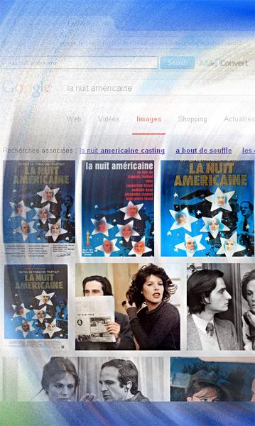 """""""La nuit américaine"""" sur le mur de Google images. Illustration: LSDP"""