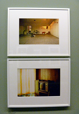 Aspect de l'exposition sur William Eggleston à la fondation HCB. Photo: LSDP