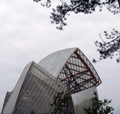 Détail de la Fondation Louis Vuitton. Photo: Les Soirées de Paris