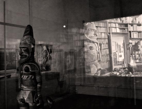 Aspect de l'exposition André Breton à Cahors. Photo: Les Soirées de Paris