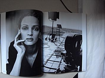 Uma Thurman par Peter Lindbergh dans le dernier ouvrage de RSF. Photo: LSDP