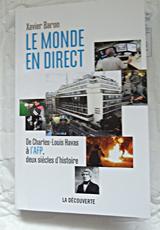 L'histoire de l'AFP par Xavier Baron. Photo: Les Soirées de Paris