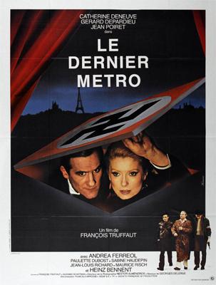 L'affiche du film Le Dernier Métro