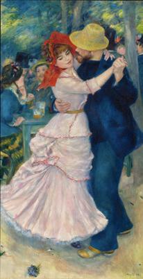 Pierre-Auguste Renoir Danse à Bougival 1883 Huile sur toile, 181,9 x 98,1 cm Boston, Museum of Fine Arts © Museum of Fine Arts, Boston