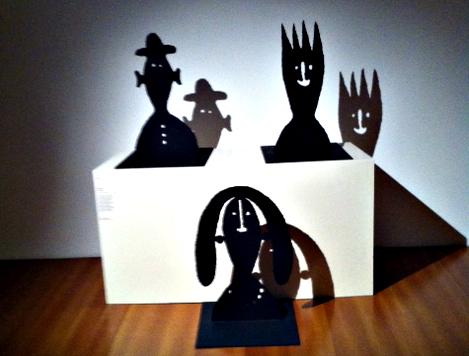 Oeuvre de Samiro Yunoki exposée au musée Guimet. Photo: Marie-Pierre Sensey
