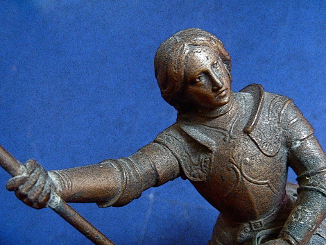 Jeanne d'Arc. Collection Bruno Sillard. Photo: LSDP