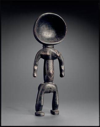 Cuiller de Côte d'Ivoire. Archives Musée Dapper. Photo : Hugues Dubois