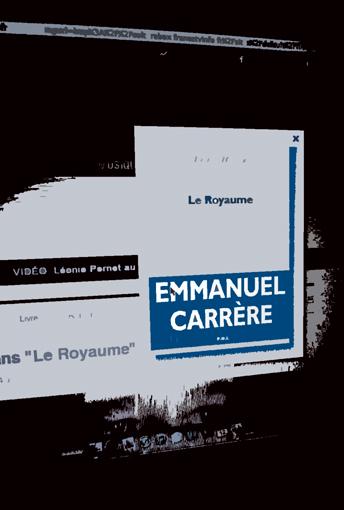Le Royaume d'Emmanuel Carrère. Illustration: Les Soirées de Paris