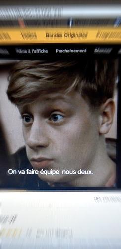 """scène de la bande annonce de """"Mommy"""". Photo: Les Soirées de Paris"""
