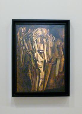"""Marcel Duchamp. """"Jeune homme triste dans un train"""". Photo: Les Soirées de Paris"""