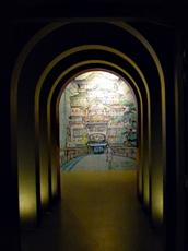 Aspect de l'exposition Ghibli au musée Art Ludique