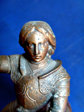 Statuette de Jeanne d'Arc. Photo: LSDP
