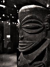 Aspect de l'exposition. Musée Dapper. Photo: Les Soirées de Paris