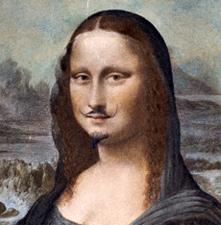 Marcel Duchamp, détail de l'affiche