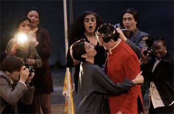 Scène de MacBeth au Théâtre du Soleil. Photo: Michèle Laurent