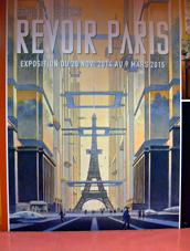 """L'affiche de """"Revoir Paris"""". Photo: LSDP"""