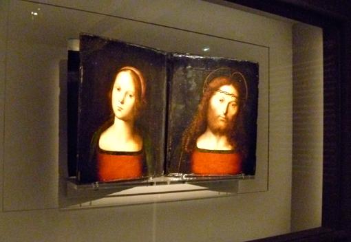 Aspect de l'exposition sur Le Pérugin. Photo: LSDP