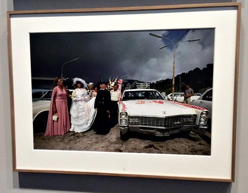 Mariage à Beyrouth 1978. Aspect de l'exposition Depardon à Marseille. Photo: VM