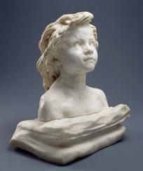 La Petite Châtelaine, marbre (1896) Roubaix, Musée La Piscine. Ph. A. Loubry