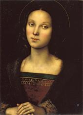 Le Pérugin. Sainte Marie Madeleine. Soprintendenza Speciale per il patrimonio storico artitisco ed (...) Museale della citta di Firenze.