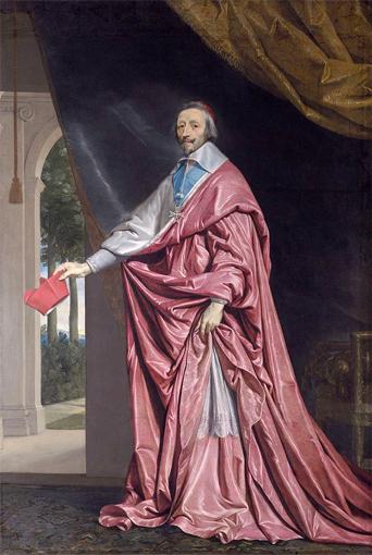 Richelieu par Philippe de Champaigne (1643). Source: Wikipédia