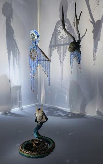 Aspect de l'exposition Haïti. Pascale Monnin. Eustache ou l'Eloge de la complexité. Photo: Nemo Perier Stefanovitch, Paris 2014