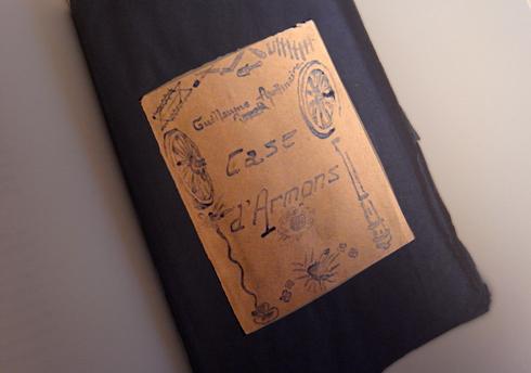 Extrait du livre Calligammes paru fin 2014 chez Gallimard. Photo: Les Soirées de Paris