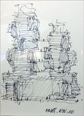 Esquisse pour la fondation d'art Luma (Arles). Photo: Valérie Maillard