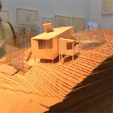 Exposition Frank Gehry. Photo: Valérie Maillard