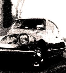 DS Citroën. Photo: Les Soirées de Paris