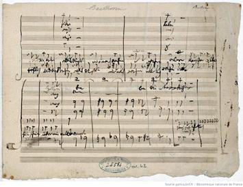 Une partition ancienne de Don Giovanni. Source image: Gallica