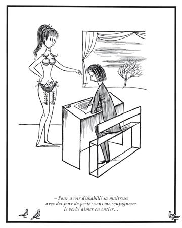 Dessin de Raymond Peynet. Source: Editions Hoëbeke