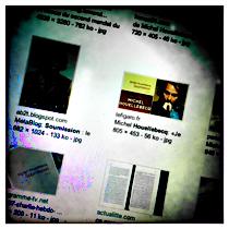 """""""Soumission"""" sur le mur d'images de Google. Photo: LSDP"""