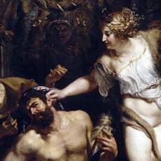 Hercule et Omphale de Rubens. Capture d'écran