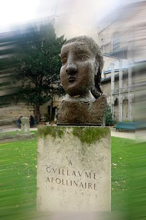 Buste de Dora maar, square Laurent Prache. Photo: Gérard Goutierre