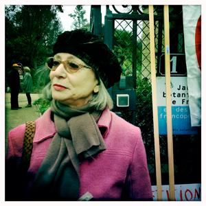 Lise Bloch-Morhange, à l'initiative de la pétition. Photo: LSDP