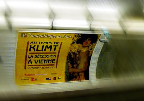L'affiche de l'exposition. Photo: LSDP