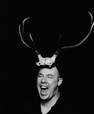 Portrait of Alexander McQueen, 1997 Photographed by Marc Hom © Marc Hom / Trunk Archive
