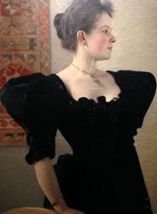 Klimt. Portrait féminin 1894. Photo: Valérie Maillard