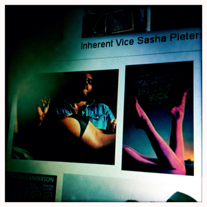 "aperçu de ""Inherent Vice"" sur le net. Photo: LSDP"