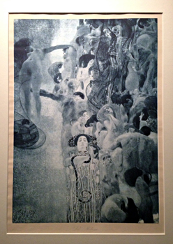 """Klimt. """"La médecine"""". 1903. Photo: Valérie Mailard"""
