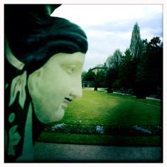 Vue des jardins des Serres d'Auteuil. Photo: Les Soirées de Paris