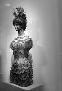Un des éléments de l'exposition en cours sur l'art de voyager. Photo: LSDP