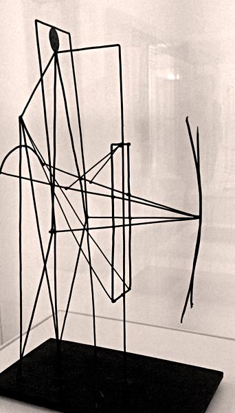 Projet de monument à Apollinaire. Photo: Valérie Maillard