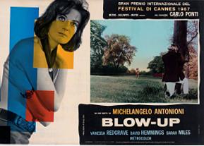 Affiche, Blow-Up, Michelangelo Antonioni, 1966 Collections La Cinémathèque française, DR.