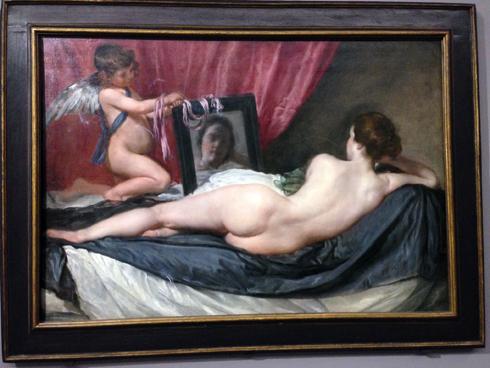 « Vénus au miroir » (vers 1647-1651). Photo: Valérie Maillard