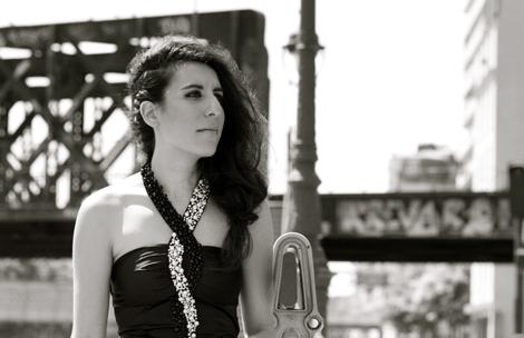 Donia Berriri. Photo: Julie Moulier