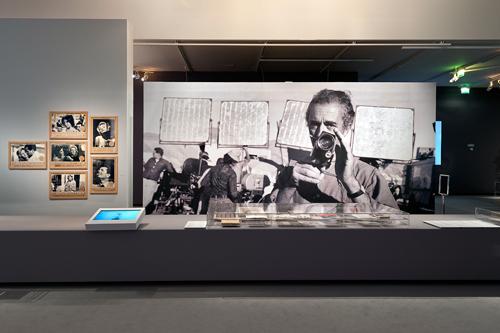 Aspect de l'exposition sur Antonioni à la Cinémathèque. Photo: Stéphane Dabrowski