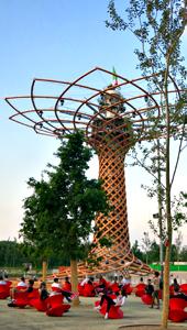 L'arbre de vie. Photo: Gérard Goutierre