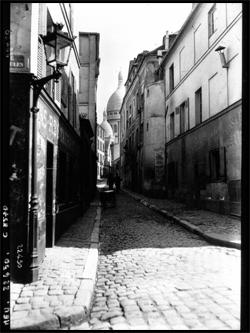 Le Montmartre d'avant. agence Meurisse. Source: Gallica